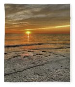 Witness - Florida Sunset Fleece Blanket
