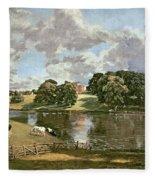 Wivenhoe Park Fleece Blanket
