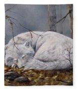 Wolf Dreams Fleece Blanket