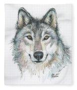 Wolf Fleece Blanket