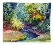 Wolf Pen Creek Fleece Blanket