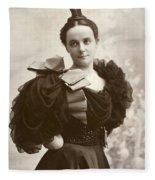 Woman, C1885 Fleece Blanket