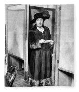 Woman: Voting, 1920 Fleece Blanket