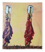 Woman's Worth - 2 Fleece Blanket