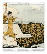 Womens Suffrage, 1915 Fleece Blanket