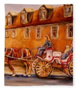 Wonderful Carriage Ride Fleece Blanket