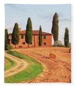 Wonderful Tuscany, Italy - 02 Fleece Blanket