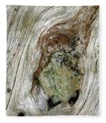 Wood And Stone, Cumbria, England Fleece Blanket