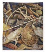 Wood Creatures Fleece Blanket