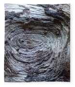 Wood Grain Of Buena Vista  Fleece Blanket