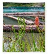 Wood River 07 Fleece Blanket
