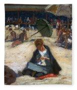 Woodbury: Ogunquit, C1912 Fleece Blanket
