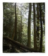 Wooded Serenity Fleece Blanket