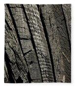 Wooden Water Wheel Fleece Blanket