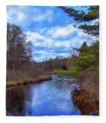 Woodhull Creek Fleece Blanket