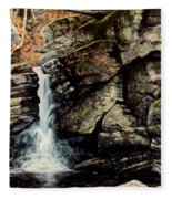 Woodland Falls Fleece Blanket
