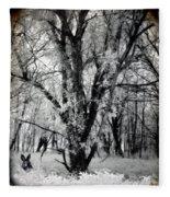 Woodland Fluff Fleece Blanket
