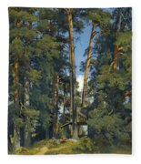 Woodland Grove Fleece Blanket