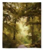 Woodland Passage Fleece Blanket