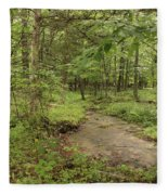Woodland Strem Fleece Blanket