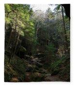 Woodlands Fleece Blanket