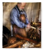 Woodworker - The Carpenter Fleece Blanket