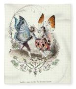 Wordsworth  Fleece Blanket