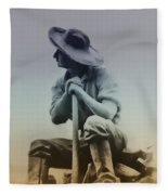 Working Man Fleece Blanket