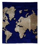 World News Fleece Blanket