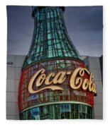 World Of Coca Cola Fleece Blanket