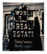 World Real Estate Chicago Fleece Blanket