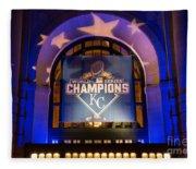 World Series Champs Fleece Blanket