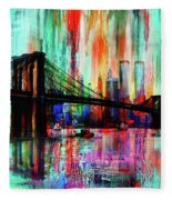 World Trade Center 01 Fleece Blanket