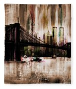 World Trade Center Fleece Blanket