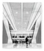 World Trade Center Transportation Hub, Lower Manhattan New York Fleece Blanket