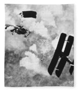 World War I: Aerial Combat Fleece Blanket