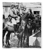 World War I: German Army Fleece Blanket
