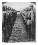 World War I: German Troop Fleece Blanket