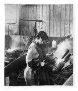 World War I: Women Workers Fleece Blanket