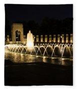 World War Memorial Fleece Blanket