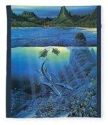 Worlds Away Ted Nasmith Fleece Blanket