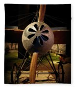 World's First 'fighter' Aircraft 1914 Fleece Blanket