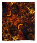 Worm Infestation Fleece Blanket