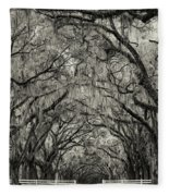 Wormesloe Historic Site Fleece Blanket