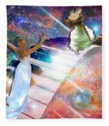 Worship In Spirit And In Truth Fleece Blanket