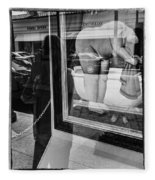Worth Ave Reflections 0488 Fleece Blanket