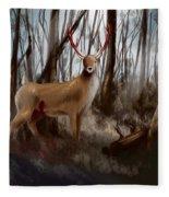Wounded Wanderer Fleece Blanket