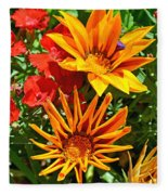 Wp Floral Study 5 2014 Fleece Blanket