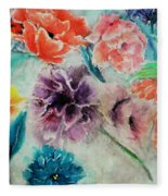 Wrap It Up In Spring By Lisa Kaiser Fleece Blanket