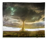 Wray Colorado Tornado 070 Fleece Blanket